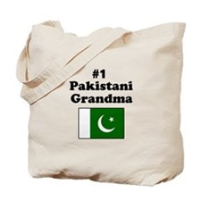 #1 Pakistani Grandma Tote Bag
