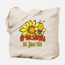 Un-Bee-Lievable 86th Tote Bag