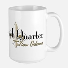 French Quarter New Orleans Large Mug