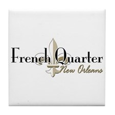 French Quarter New Orleans Tile Coaster