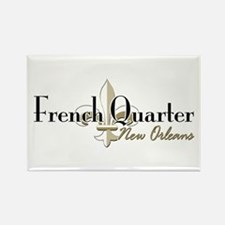 French Quarter New Orleans Rectangle Magnet