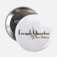 """French Quarter New Orleans 2.25"""" Button"""