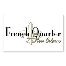 French Quarter New Orleans Decal