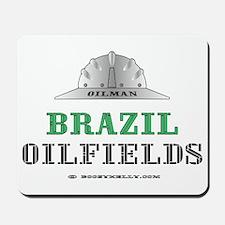 Brazil Oilfields Mousepad
