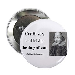 """Shakespeare 16 2.25"""" Button (100 pack)"""