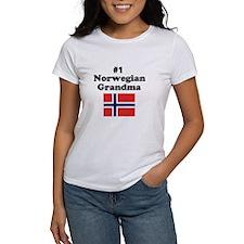 #1 Norwegian Grandma Tee