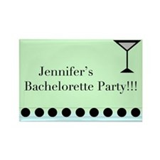 Funny Personalized bachelorette party Rectangle Magnet