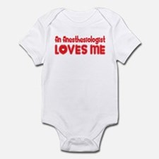 An Anesthesiologist Loves Me Infant Bodysuit