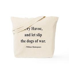 Shakespeare 16 Tote Bag