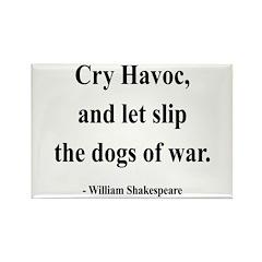 Shakespeare 16 Rectangle Magnet (10 pack)