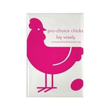 Pro-Choice Chicks Rectangle Magnet