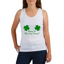 Wanna see my lucky charms Women's Tank Top