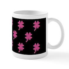 Pink Shamrock Pattern Mug