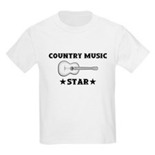 Country Music Star T-Shirt