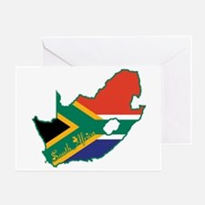 Cool South Africa Greeting Card