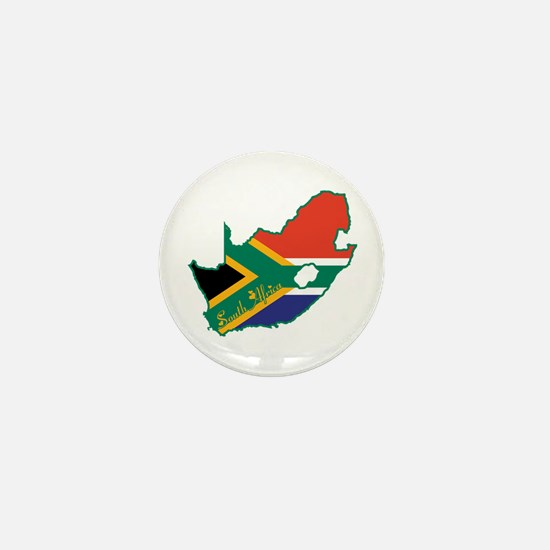 Cool South Africa Mini Button