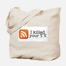 Cute Podcaster Tote Bag
