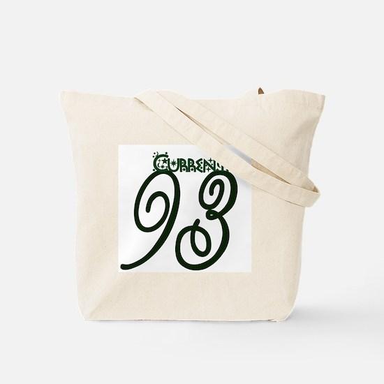 Current 93 Mystic Rose Tote Bag