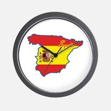Cool Spain Wall Clock