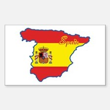 Cool Spain Rectangle Decal