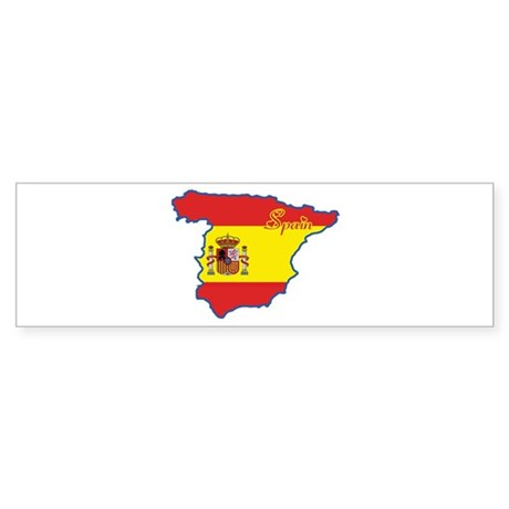 Cool Spain Bumper Sticker