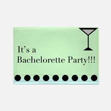 Cute Bachellorette party Rectangle Magnet