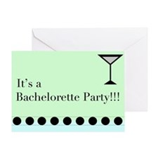 Cute Bacheloret Greeting Card