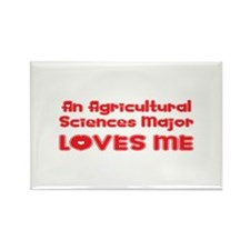 An Agricultural Sciences Major Loves Me Rectangle