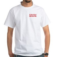 An Agricultural Sciences Major Loves Me Shirt