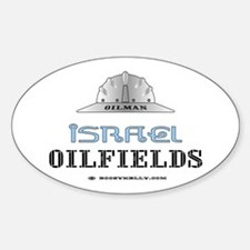 Israel Oilfields Oval Decal