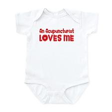 An Acupuncturist Loves Me Infant Bodysuit