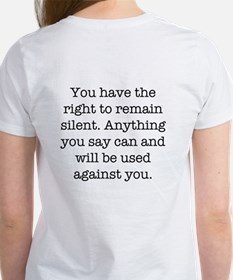 Blogger / Right to remain sil Tee