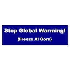 Stop Global Warming! Bumper Bumper Sticker