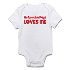 An Accordion Player Loves Me Infant Bodysuit