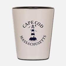Summer cape cod- massachusetts Shot Glass