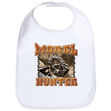 Morel mushroom t-shirts and gifts Bib