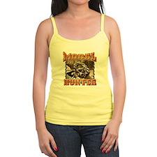 Morel mushroom t-shirts and gifts Jr.Spaghetti Strap