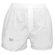 bunny whipped gray Boxer Shorts