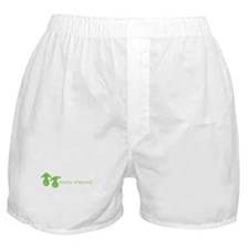 bunny whipped green Boxer Shorts