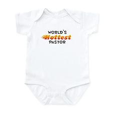 World's Hottest Pastor (B) Infant Bodysuit