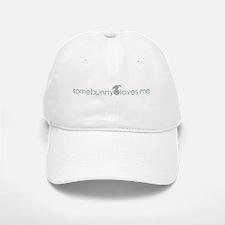 somebunny loves me Baseball Baseball Cap