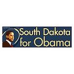 South Dakota for Obama bumper sticker