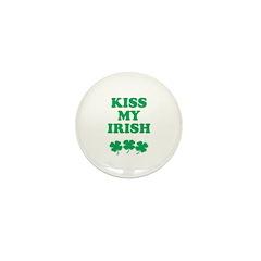 Kiss my Irish Mini Button (100 pack)