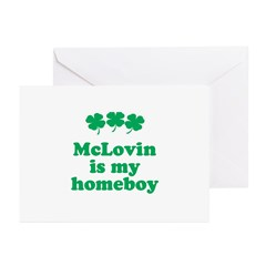 McLovin in my homeboy Greeting Cards (Pk of 20)