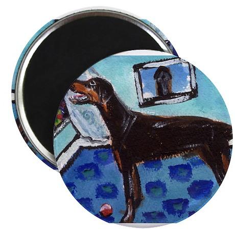 """DOBERMAN PINSCHER art 2.25"""" Magnet (100 pack)"""