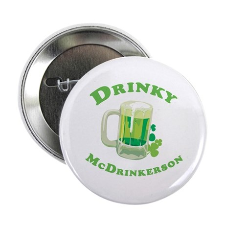 """Drinky McDrinkerson 2.25"""" Button (10 pack)"""