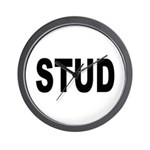Stud Wall Clock