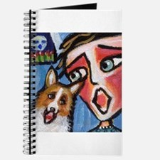 Welsh Corgi moon singer Journal
