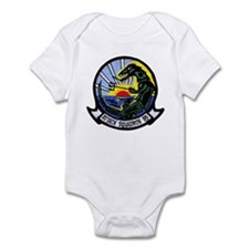 VA 95 Green Lizards Infant Bodysuit