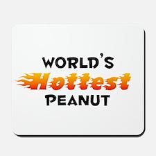World's Hottest Peanut (B) Mousepad